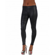 Leggings wetlook cross