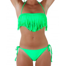 Bikini Long Beach L Green