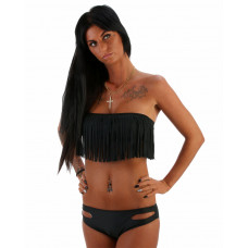 Bikini Long Beach Black Night