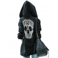 Jacka Parkas Skull Black
