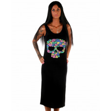 Beachdress Skull Flower