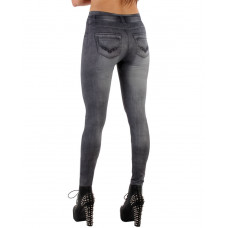 Leggings Jeans Grey