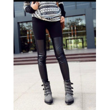 Leggings - Black  Denim
