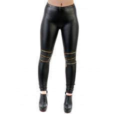 Leggings Gold zipper