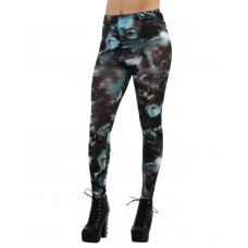 Leggings Turkos Galaxy