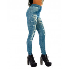 Leggings Light Blue Jeans