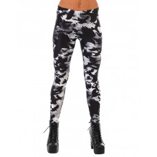 Leggings Black Bird