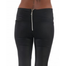Leggings Zipper Back