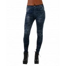 Leggings Dark Blue Signs