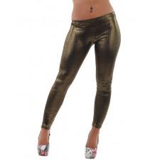 Leggings Gold metallic