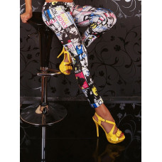 Leggings - Graffiti Portrait