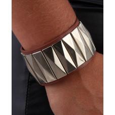 Armband Läder brunt