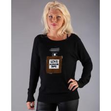 Love Potion Sweater black