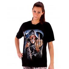 T-shirt lie skull