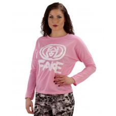 Tröja Fake rosa