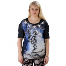 T-shirt Praying Skeleton