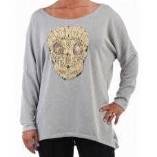 Oversize-tröja Skull