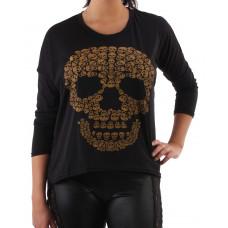 Tröja Skull skull black