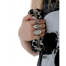 Clutch  White leopard W