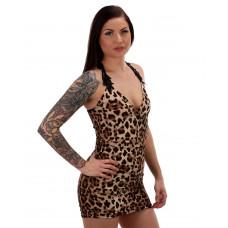 Klänning Leopard Sp
