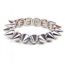 Armband - Silver Spike