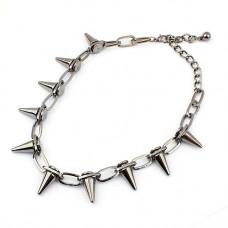 Halsband - Gun Rivet Silver